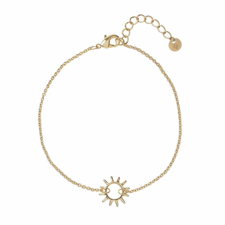 Rise Bracelet Gold Plated-1
