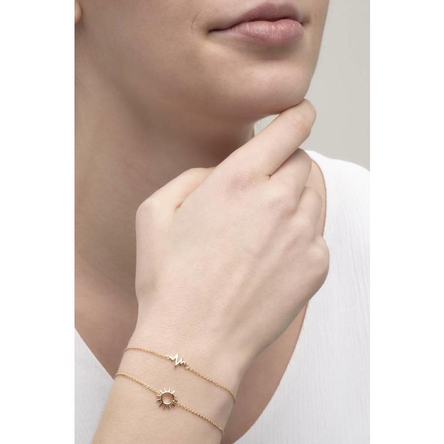 Rise Bracelet Gold Plated-2