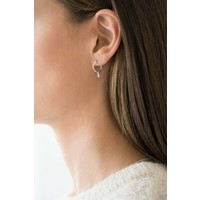 thumb-The Jordaan Hoops Silver Plated-2