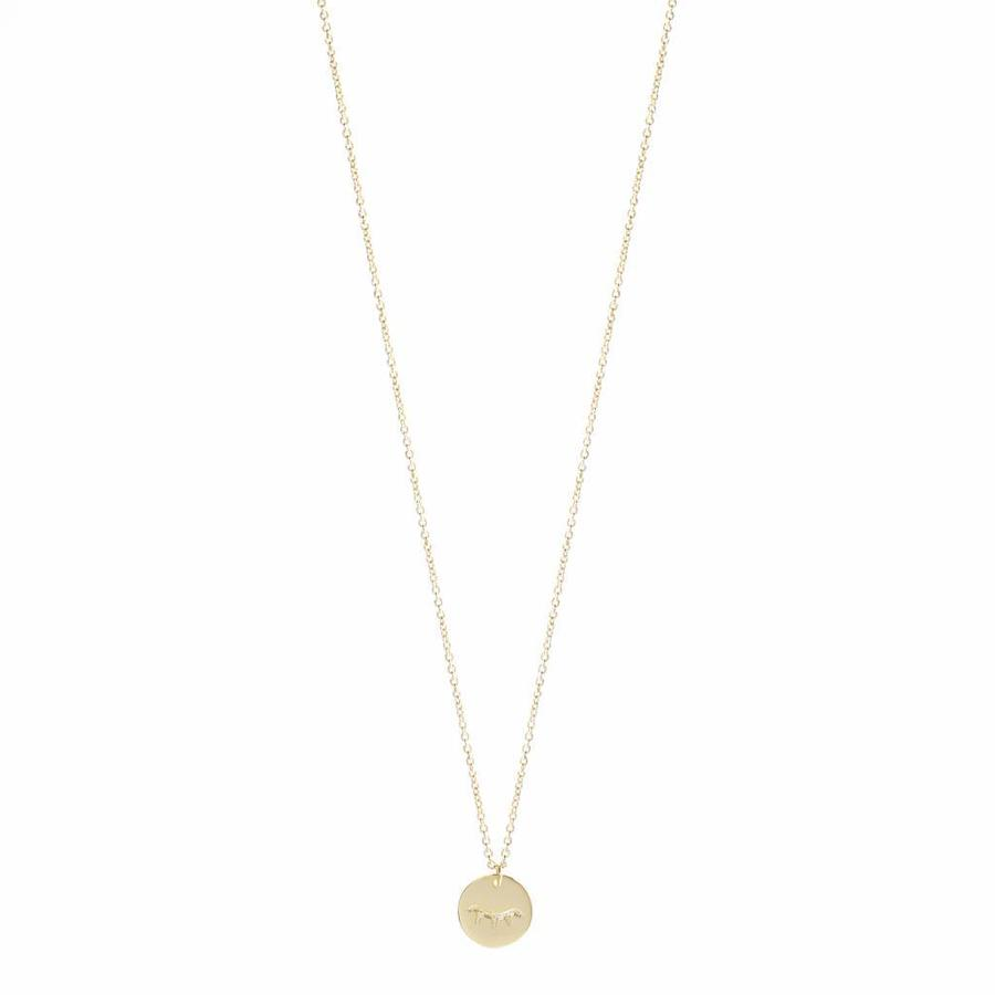 Unwind Necklace Gold-1