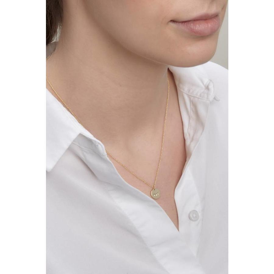 Unwind Necklace Silver-2