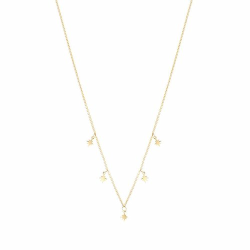 Stellar Necklace Gold