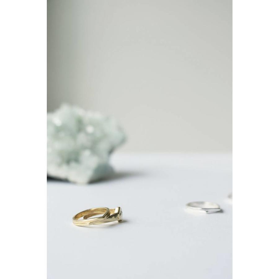 Mountain Ring Zilver-3
