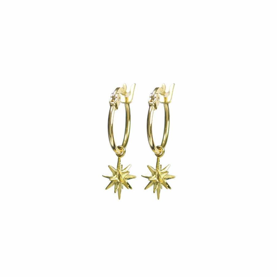 Rise Earrings Gold-1