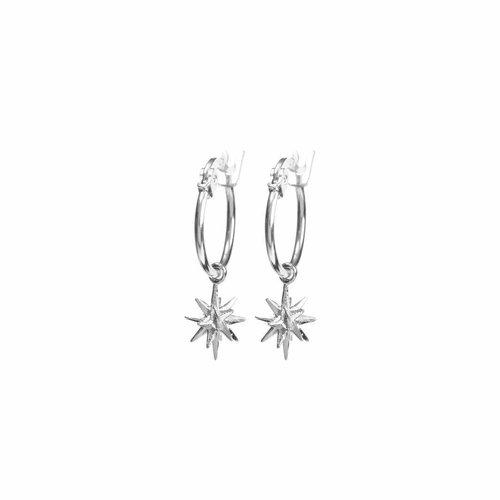 Rise Earrings Silver