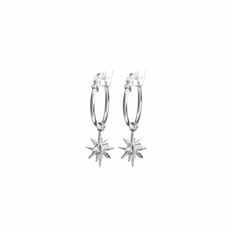 Rise Earrings Silver-1