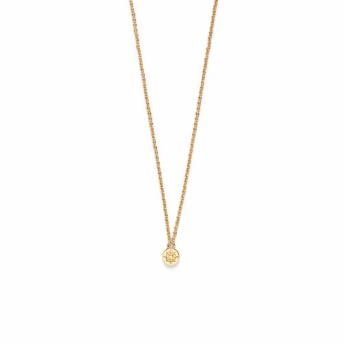 Compass Ketting Goud
