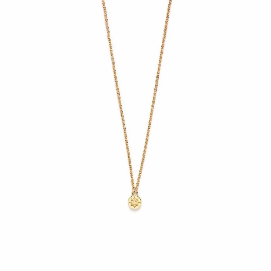 Compass Ketting Goud-1