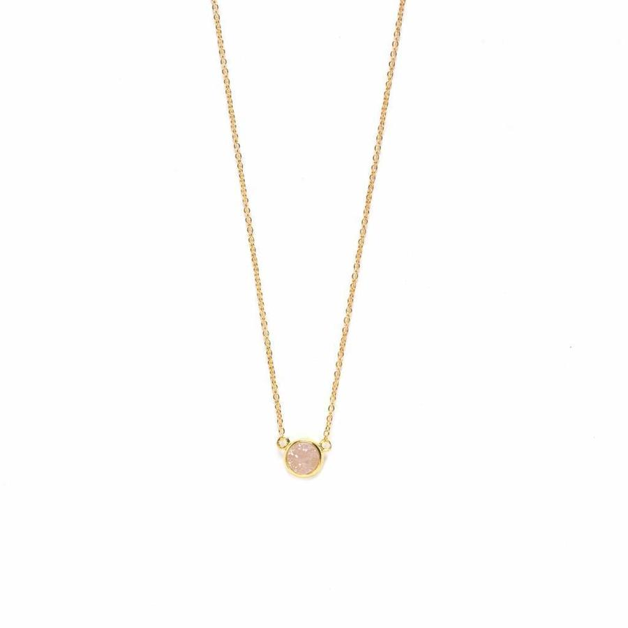 Serenity Necklace Gold-1
