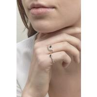 thumb-Reverie Ring Zilver Zwart-5
