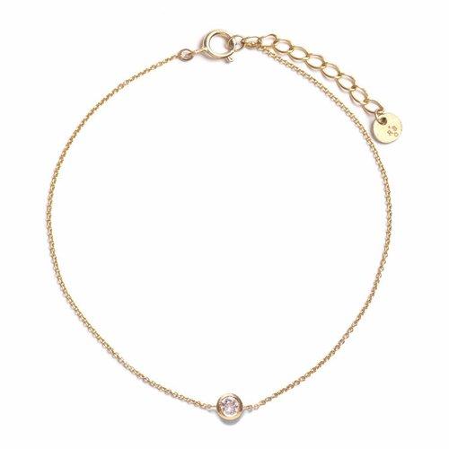 Crystallized Bracelet 18krt Gold