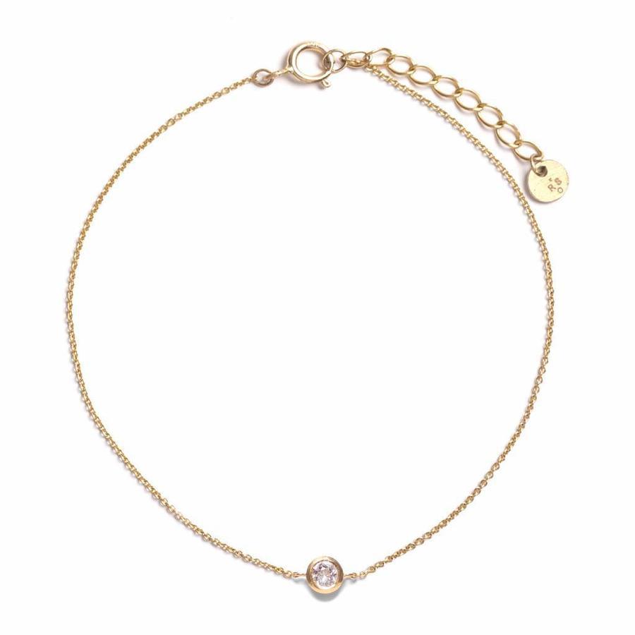 Crystallized Armband 18krt Goud-1