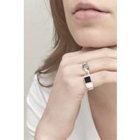 thumb-Stellar Signet Ring Zilver-5