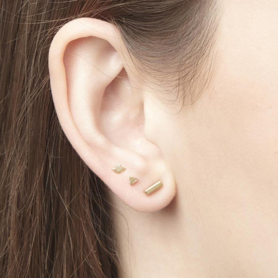 Tribe Studs Gold Plated-2