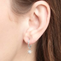 thumb-Rise Earrings Silver-2