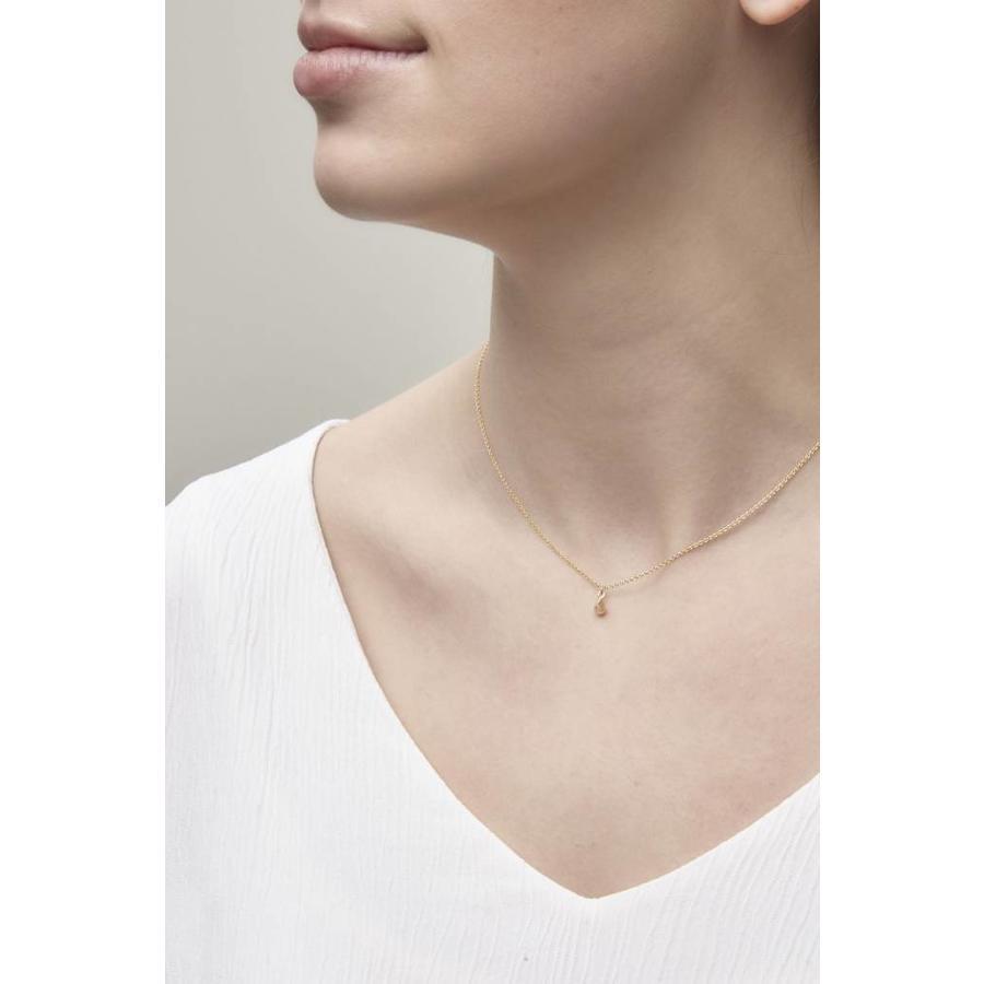 Still Necklace Gold-2