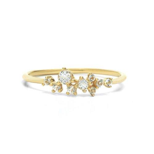 Radiance Ring 18krt Goud