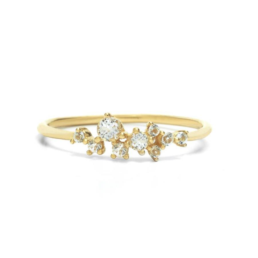 Radiance Ring Solid Gold-1