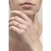 thumb-Radiance Ring Solid Gold-2