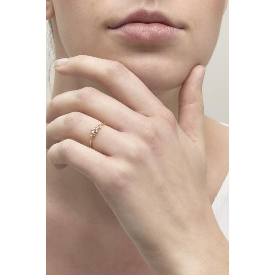 Radiance Ring Solid Gold-2