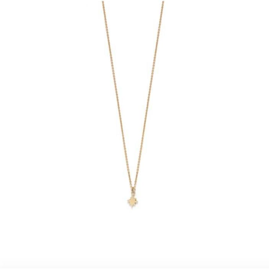 Star Necklace Gold-1
