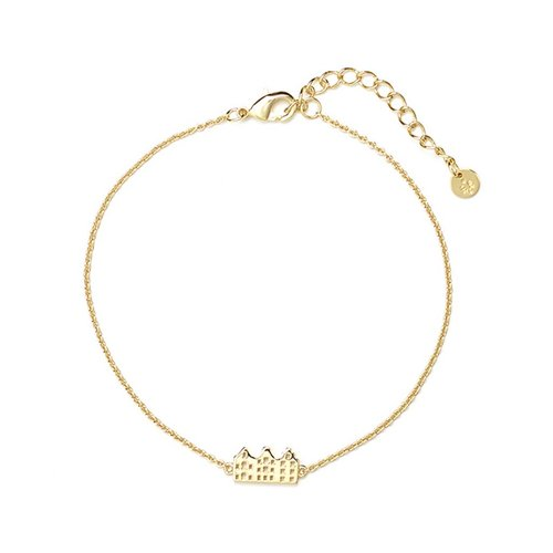 Canal Bracelet Gold Plated