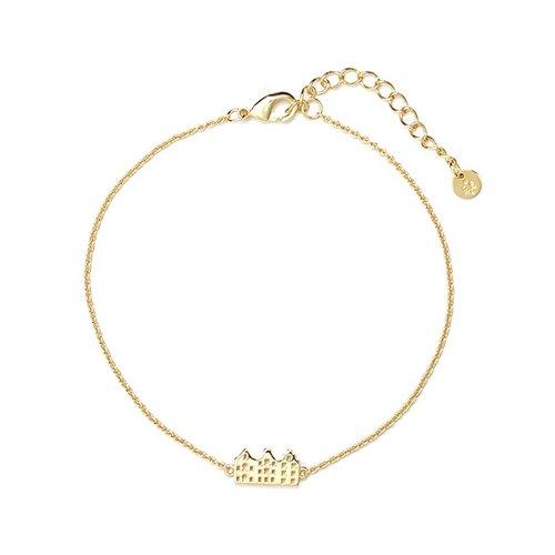 Canal Bracelet Gold