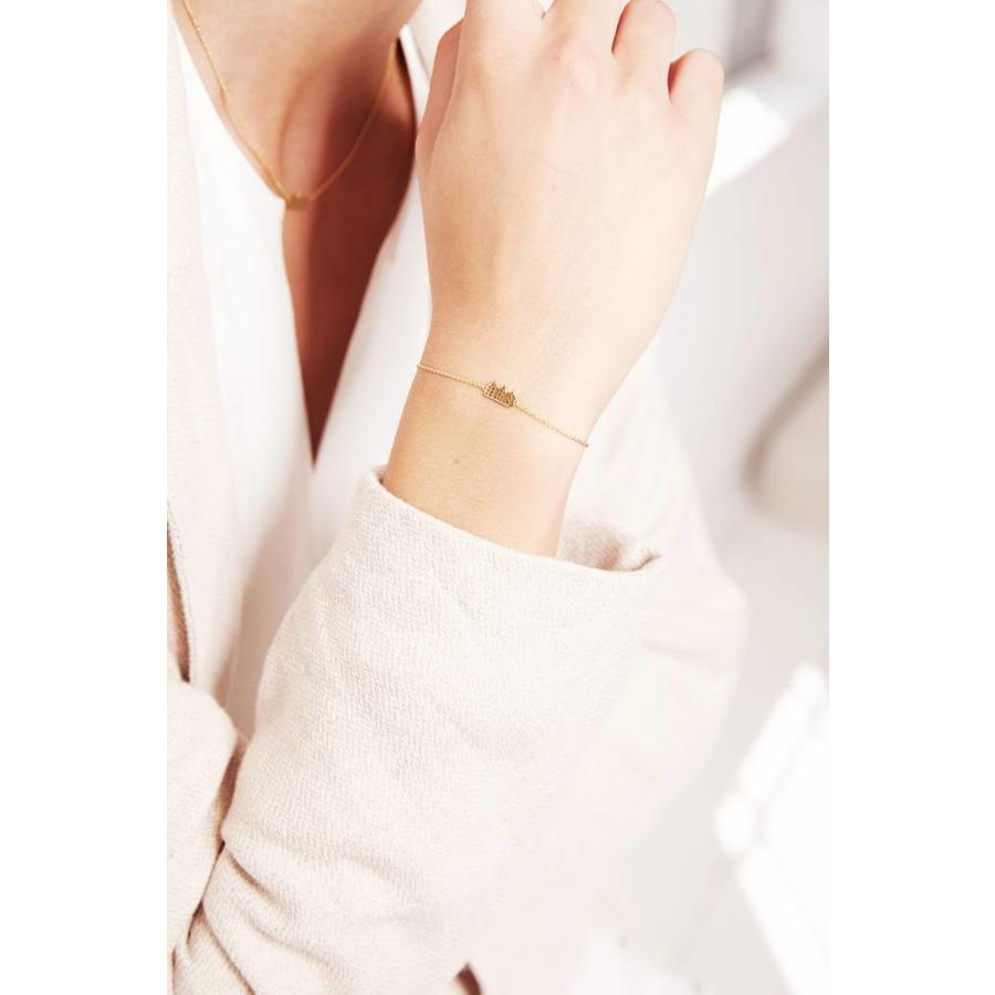 Canal Bracelet Gold Plated-2