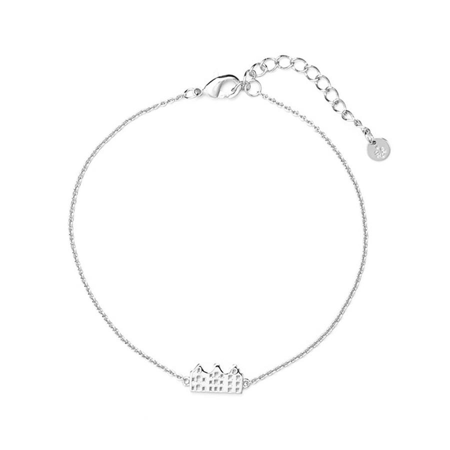 Amsterdam Canal armband Zilver-1