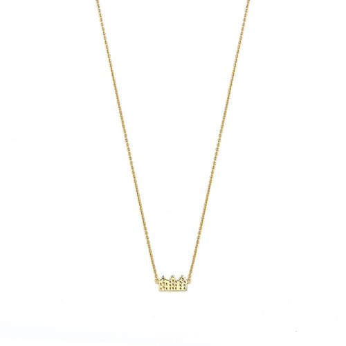 Canal Necklace Gold Plated