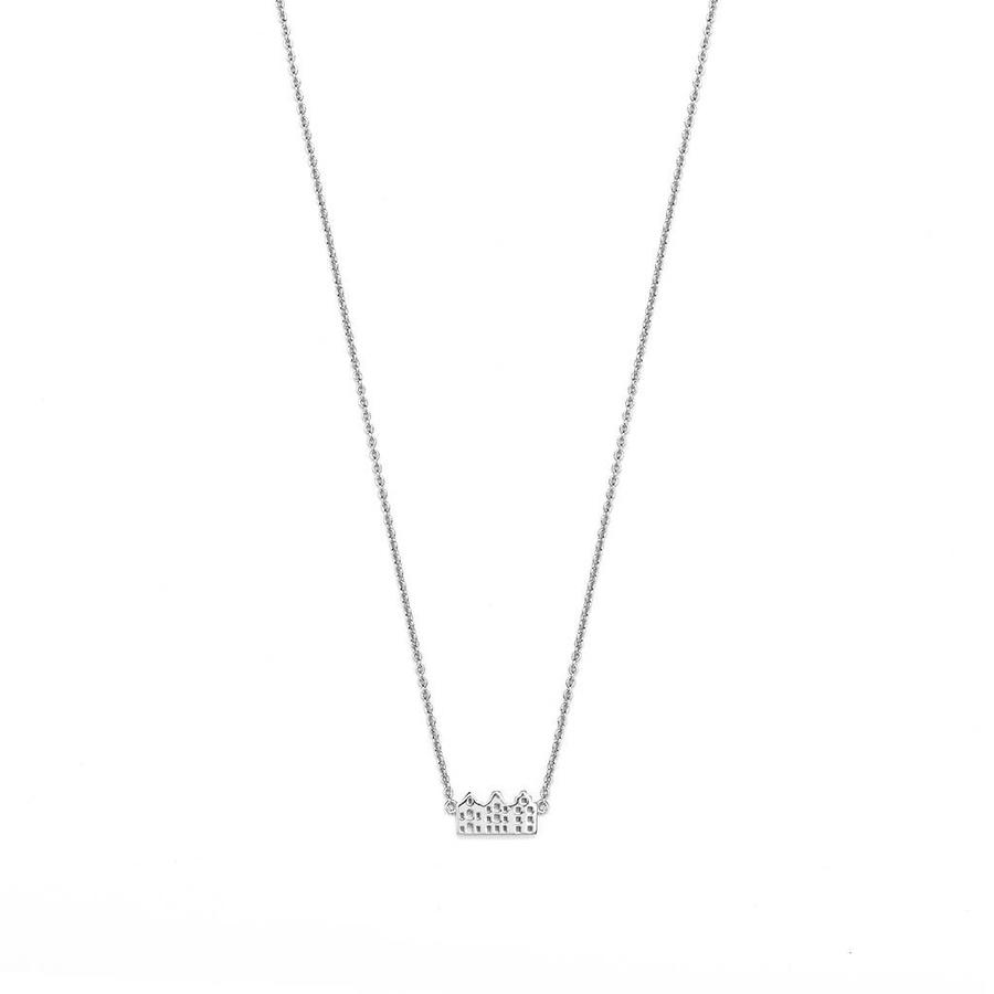 Canal Necklace Silver