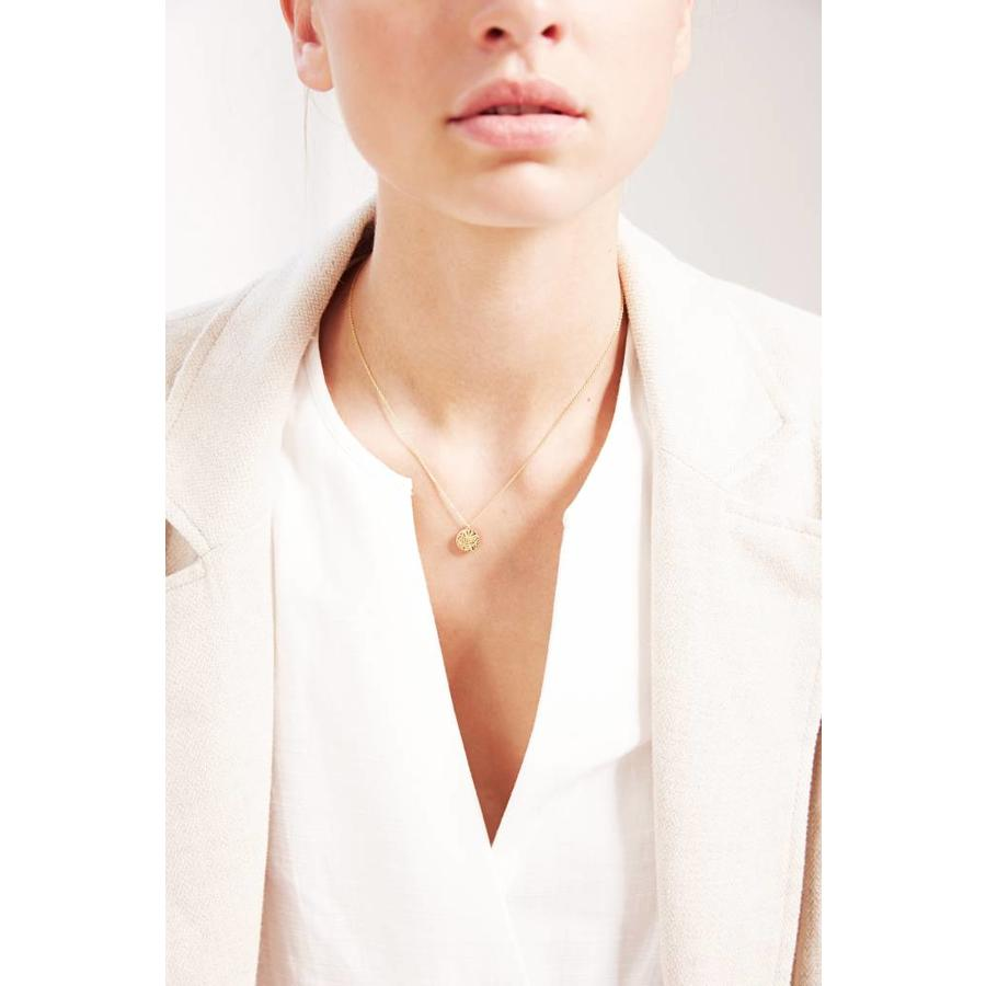 City Necklace Gold Plated-2