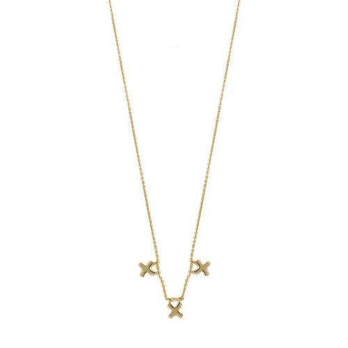 Metropolis Necklace Gold
