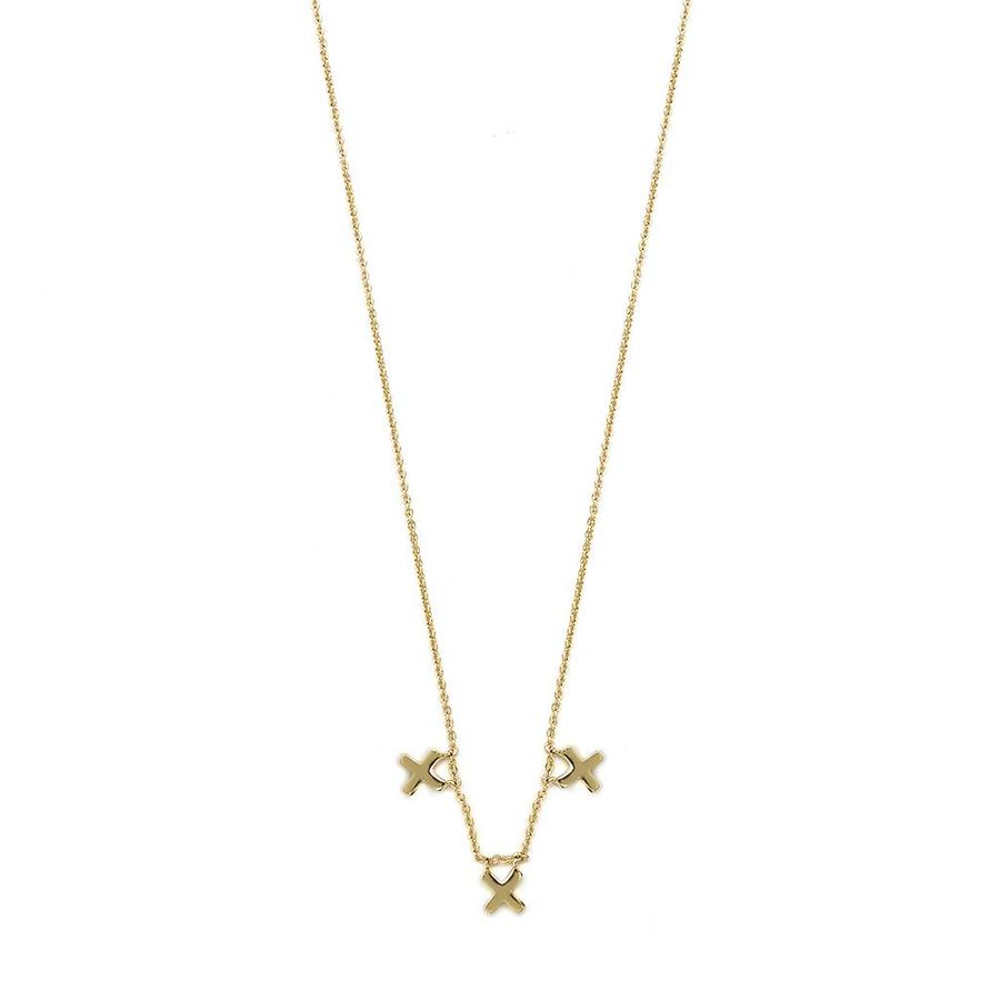 Metropolis Necklace Gold. Plated-1