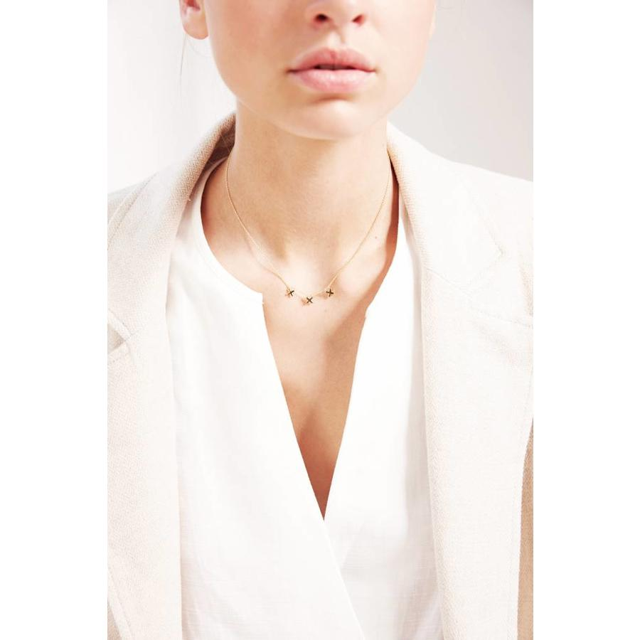 Metropolis Necklace Gold-2