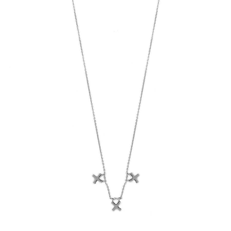 Metropolis Necklace Silver-1