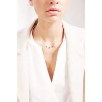 thumb-Metropolis Necklace Silver-2