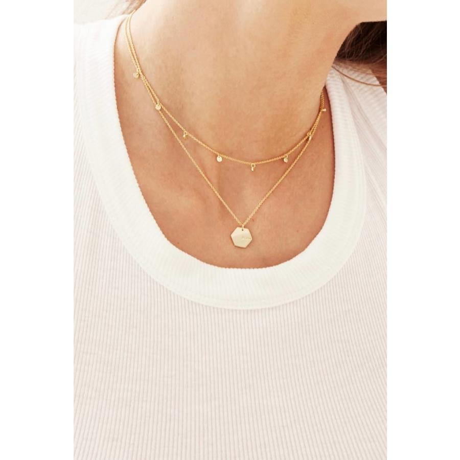 Slow Necklace Gold-2