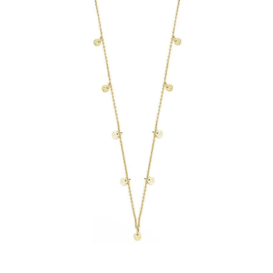 Light  Necklace Gold-1