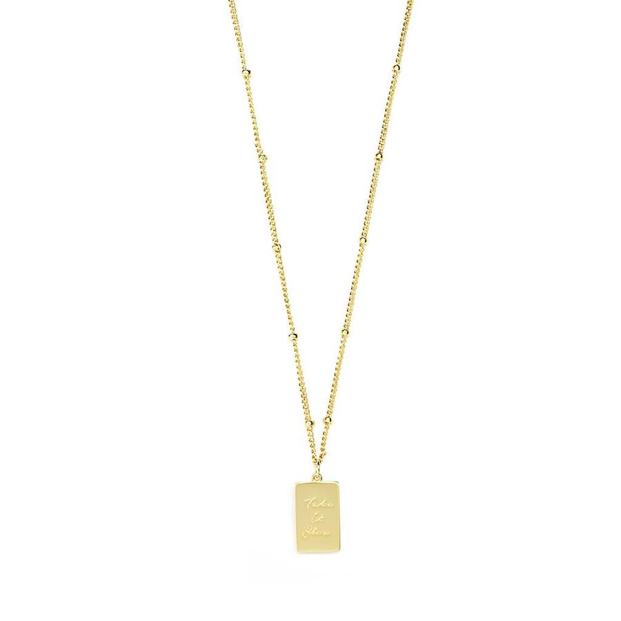 Soothe Necklace Gold-1
