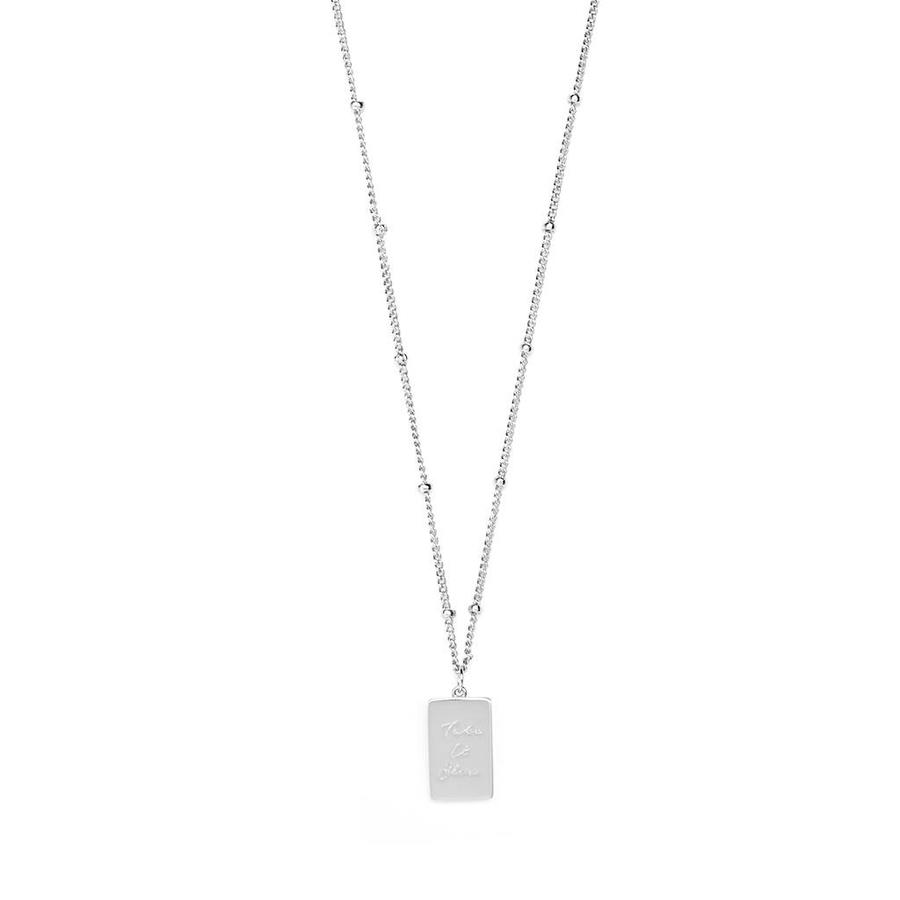 Soothe Necklace Silver-1
