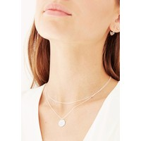 Gentle Necklace Silver