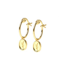 thumb-Sage Hoops Gold Plated-1