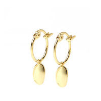 thumb-Dune Hoops Gold Plated-1
