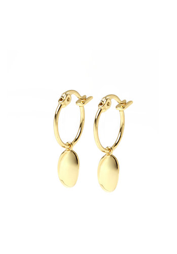 Dune Hoops Gold Plated