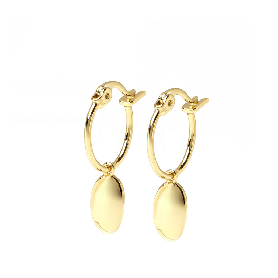 Dune Hoops Gold Plated-1