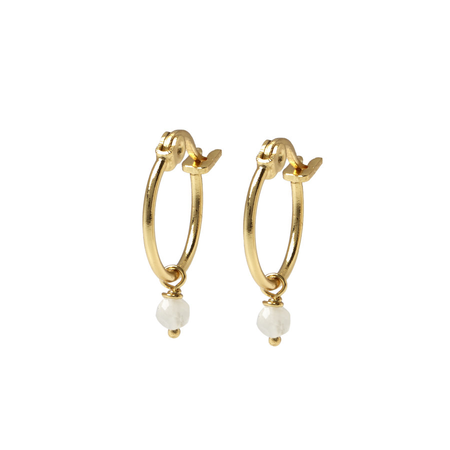 Sense Hoops Gold Plated-2