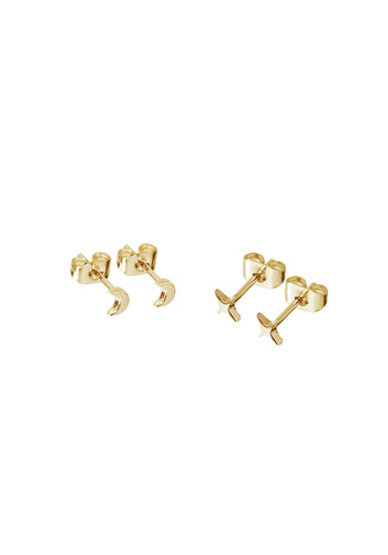 Glimmer Studs Gold Plated