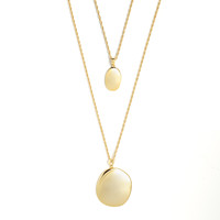 thumb-Connect Necklace Gold Plated-1
