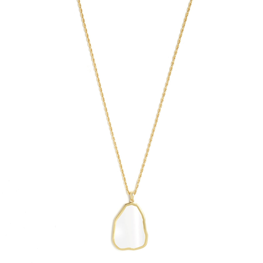 Spirit Necklace Gold Plated-1